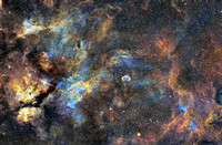 Two panels of Cygnus Mosaic
