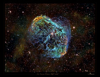 NGC 6888, the Crescent Nebula, Sh2-105