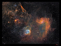 IC 405 and 410