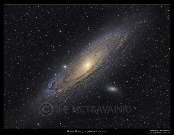 The Great Galaxy of Andromeda