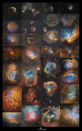 Sharpless catalog objects