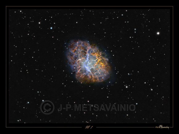 "M 1, the ""Crab Nebula"", New version"