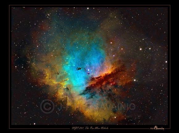 "NGC 281, The ""Pac-Man Nebula"""