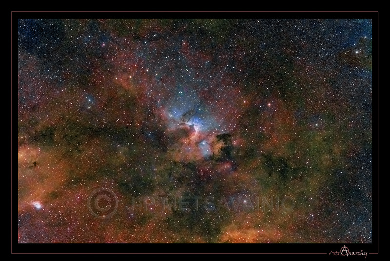 cave nebula narrow band - photo #39